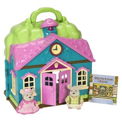 Amazon Com Li L Woodzeez Honeysuckle School House With