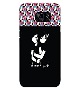 PrintDhaba Quote D-5736 Back Case Cover for SAMSUNG GALAXY S7 (Multi-Coloured)