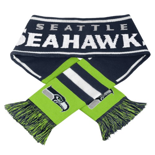 Forever Collectibles Seattle Seahawks NFL Wordmark Logo Scarf at Amazon.com