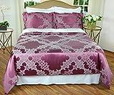 Silk/Cotton Jacquard Duvet Cover Set - Moroccan