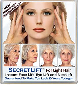 Instant Face, Neck and Eye Lift (Light Hair)