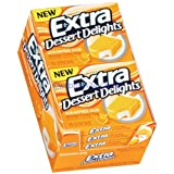 Wrigley's Extra Dessert Delight Orange Creme Pop Chewing Gum 10 Pack