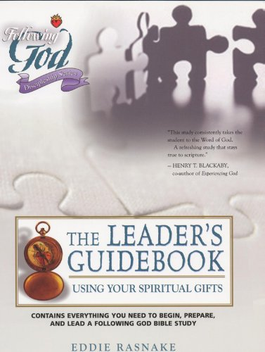 Using Your Spiritual Gifts: Leaders Guide (Following God Discipleship Series), Rasnake, Eddie