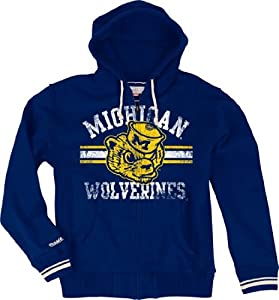 Michigan Wolverines Mitchell & Ness 2013 Vintage Full Zip Premium Hooded... by Mitchell & Ness