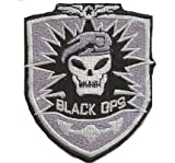Call of Duty 3 Black Ops PS3 CoD PC Emblem ProGamer Costume Iron on Patch Badge