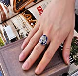 Susen Fashion Vintage Vampire Diaries Salvatore Damon Stefan Finger Family Crest Ring
