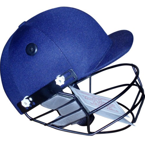 Max Adjustable Style  Cricket Helmet With Removable Face Grill Navy Size Small-Medium