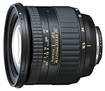 Tokina AT-X 16.5-135 DX (Canon) Objectif Noir