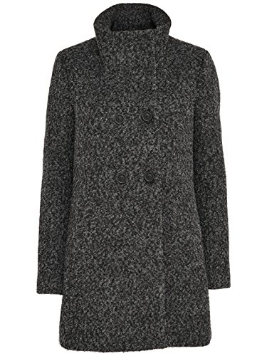 ONLY -  Cappotto  - trench - Donna Grigio scuro mélange 40
