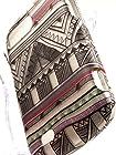 Shockwize (Tm) Imago Series ZTE Valet Z665C Fury N850 Director N850l Geometric Aztec Pattern Design Art Artwork Skin Shell Armor Protector Cover Case Shock Absorbing Rigid Hybrid Z665 N850 N850l (Design Aztec Gray)