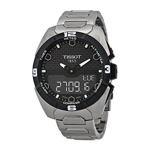 Tissot-Mens-T0914204405100-T-Touch-Expert-Solar-Analog-Digital-Display-Swiss-Quartz-Silver-Watch