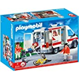 Dazzling Playmobil 4221 Ambulance with accompanying HSB Storage Bag