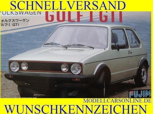 1/24 Volkswagen Golf I GTI (Model Car) Fujimi Real Sports Car| RS-16 (Volkswagen Gti Model Car compare prices)