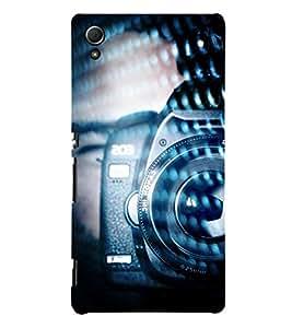 Vintage Cam Coder 3D Hard Polycarbonate Designer Back Case Cover for Sony Xperia Z4 :: Sony Xperia Z4 E6553