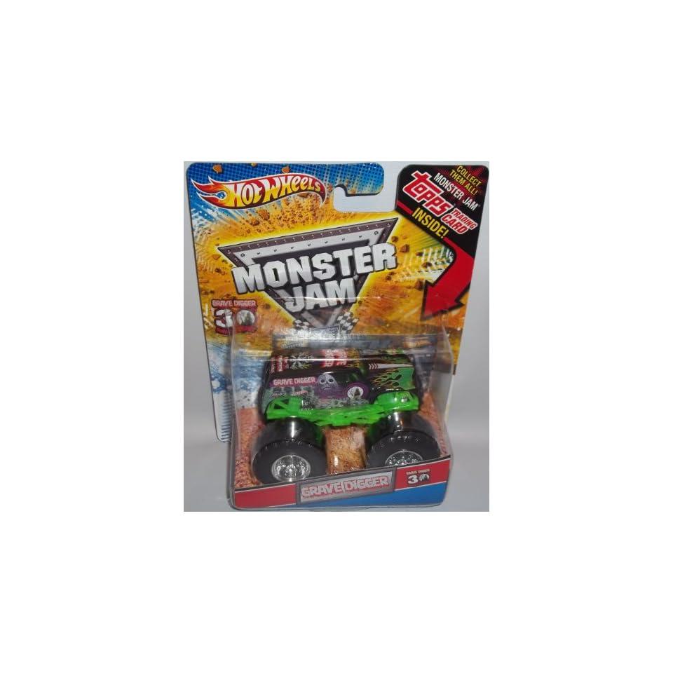 Hot Wheels Monster Jam Mohawk Warrior 30th Anniversary 164 Diecast Truck Series with Monster Jam Topps Trading Card Inside