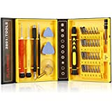 FLOUREON® 38 in 1 Repair Tools Kit Screwdrivers for iPhone Samsung Smartphone Tablet PC
