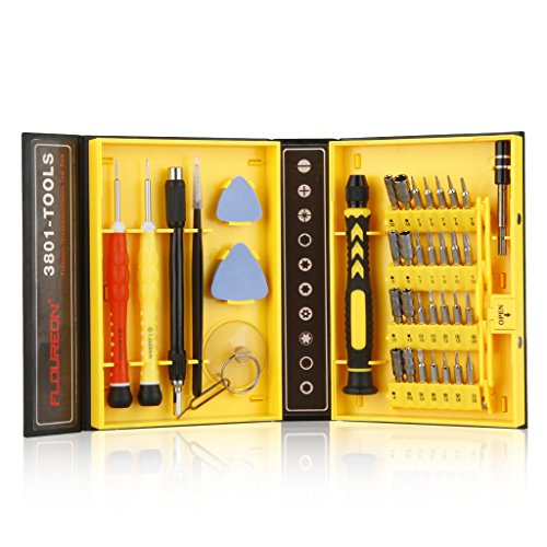 Floureon 38-piece Precision Screwdriver Set Repair