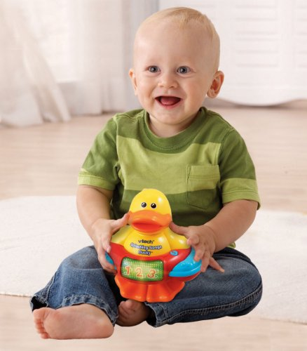 VTech Splashing Songs Ducky Bath Toy