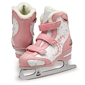 Jackson Softec Tri-Grip Ice Skates - ST2117 Pink Girls Figure Ice Skates by Jackson