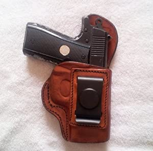 "INSIDE THE WAISTBAND HOLSTER.. Colt 1911 - 5""..Brown L/H"