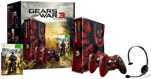 【ゲーム 買取】Xbox 360 320GB Gears of War 3 リミテッド エディション