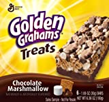 Golden Grahams Treats, Chocolate Marshmallow, 6.36-Ounce (Pack of 6)