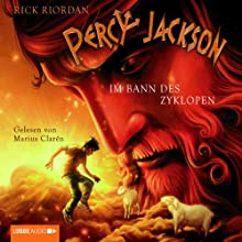 Im Bann des Zyklopen (Percy Jackson 2) (       gekürzt) von Rick Riordan Gesprochen von: Marius Clarén