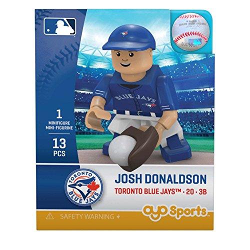 MLB Toronto Blue Jays Gen5 Limited Edition Josh Donaldson Minifigure, Small, White (Josh Donaldson Blue Jays compare prices)