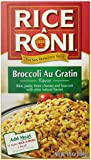 Rice-A-Roni Broccoli Au Gratin, 6.5-Ounce Boxes (Pack of 12)
