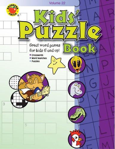 Kids' Puzzle Book, Grades 1 - 5: Volume 22 (Brighter Child: Kid's Puzzle Books), Buch