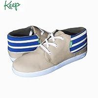 (キープ) keep THE RAMOS(ラモス)モデル Blue Sun Stripe 9.5(27cm)