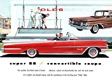 1959 Oldsmobile Super 88 Convertible Coupe Promotional Advertising Poster