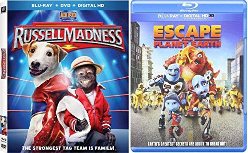 escape from planet earth movie trailer and videos