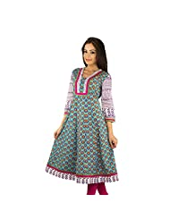 Rama Cotton Women's Traditional Kurti - (14RAMA1421097)