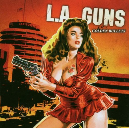 Original album cover of Golden Bullets by LA Guns