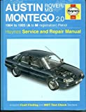 John S. Mead Austin/Rover/MG Montego 2.0 1984 to 1995 (A to M reg)