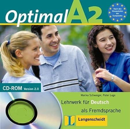 Optimal A2 - CD-ROM A2: Lehrwerk für Deutsch als Fremdsprache: Deutsch als Fremdsprache für erwachsene und jugendliche Anfänger ohne Vorkenntnisse