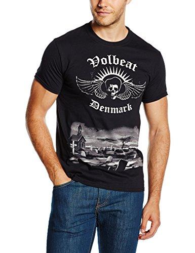 Volbeat - Rise From Denmark, Short sleeve da uomo, nero (black), M