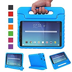 NEWSTYLE Tab E 8.0 Kids Case - Shockproof Light Weight Protection Handle Stand Kids Case for Samsung Galaxy Tab E 8.0 Inch 2015 Tablet (Blue)
