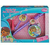 Disney Doc McStuffins Kids Boxed Music Set - Flute Recorder, Tambourine and Maracas