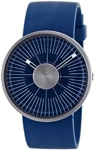 ODM - MY03-02 - Montre Mixte - Quartz Analogique - Bracelet Plastique Bleu