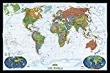 World Decorator Wall Map Laminated (Reference - World)