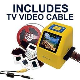 Wolverine 20MP 4-In-1 Film to Digital Converter (F2DSUPER) - Bundle INCLUDES TV CABLE