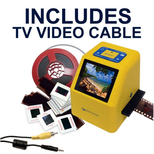 Wolverine-20MP-4-In-1-Film-to-Digital-Converter-F2DSUPER-Bundle-INCLUDES-TV-CABLE