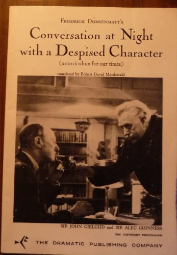 Conversation at Night with a Despised Character (a curriculum for our times) PDF