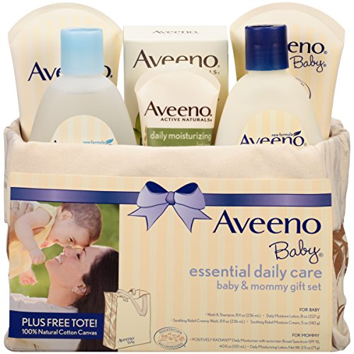 Aveeno Baby Mommy & Me Gift Set (Gift Basket Baby compare prices)