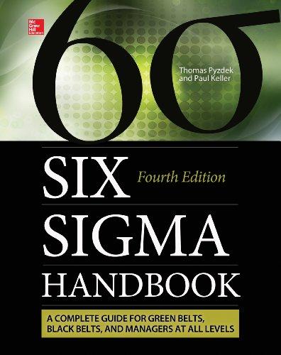 Six Sigma Handbook, Fourth Edition (Enhanced Ebook)
