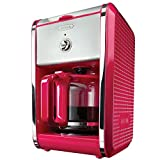 Dots 12-Cup Switch Coffee Maker in Pink