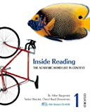 img - for Inside Reading 1 Student Book Pack: The Academic Word List in Context Pap/Cdr St Edition by Arline Burgmeier, Cheryl Boyd Zimmerman published by Oxford University Press, USA (2007) book / textbook / text book