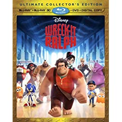 Wreck-It Ralph (Blu-ray 3D/Blu-ray/DVD + Digital Copy)